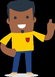 Illustration African man