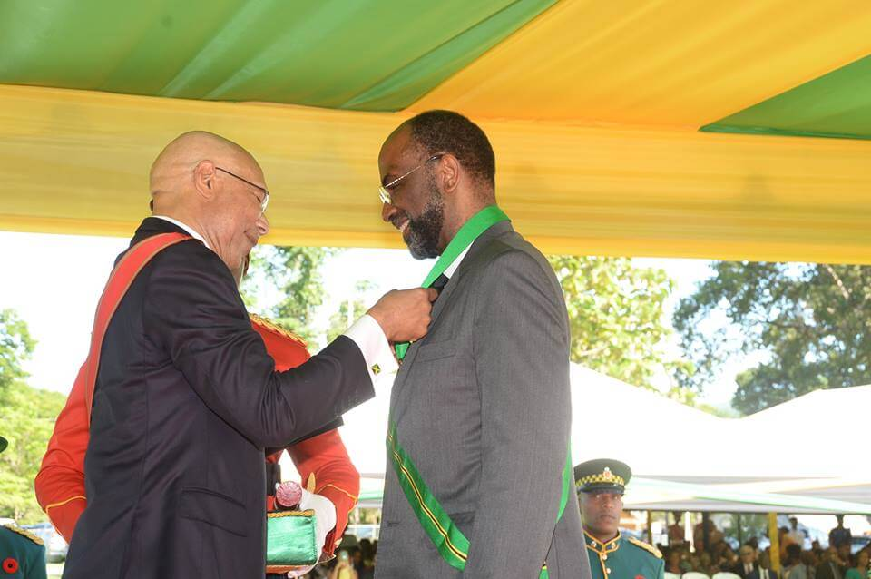 Earl Jarrett conferred with 2nd National Honour