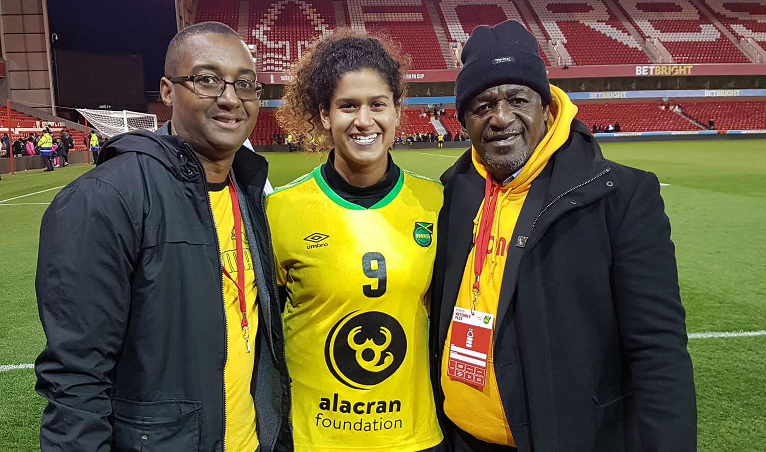 JN Money Sponsors Reggae Girlz Visit to UK